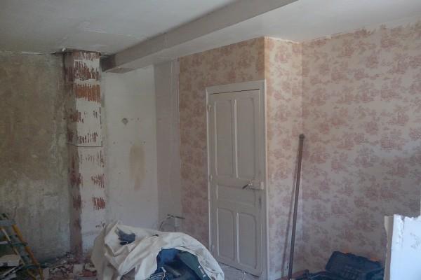 rénovation intérieure chambre avant - solution travaux rénovation