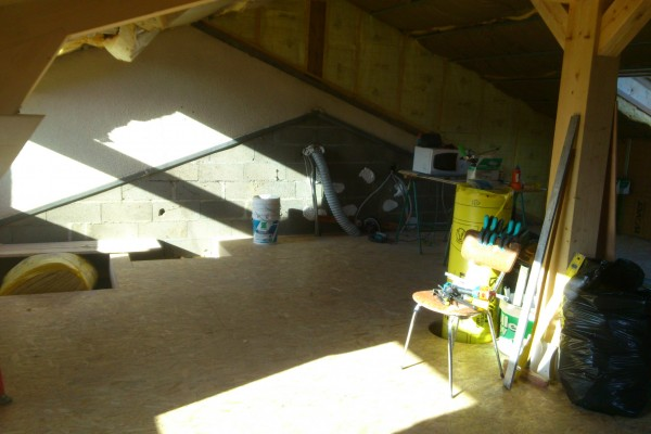 rénovation intérieure combles avant 1 avant - solution travaux rénovation