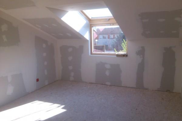 rénovation intérieure combles après 2 - solution travaux rénovation