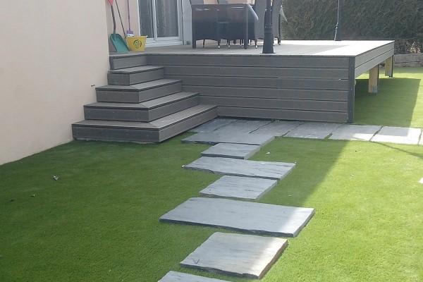rénovation extérieure jardin après - solutions travaux rénovation